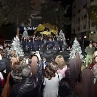 افتتاح القرية الميلادية في ساحة ياسين- الأشرفية - محمد سلمان