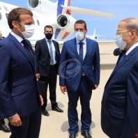 زيارة الرئيس الفرنسي إيمانويل ماكرون الى بيروت