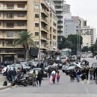 محتجون يقطعون طريق الرينغ - محمد سلمان