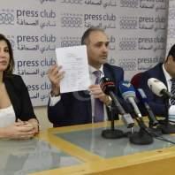 مؤتمر صحافي لنقابة المالكين في نادي الصحافة- محمد سلمان