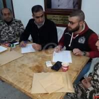 الإستعدادات لعودة دفعة من النازحين السوريين