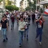 اليوم السادس من التظاهرات الشعبية في لبنان-محمد سلمان