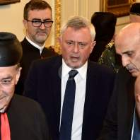المصالحة بين سمير وجعجع وسليمان فرنجية في بكركي