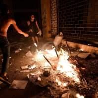 مظاهرة ومواجهات في وسط بيروت - محمد سلمان