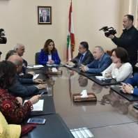 لقاء وزيرة الإعلام مع وفد محرري الصحافة - محمد سلمان