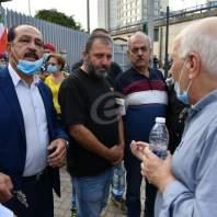اعتصام أمام مبنى الـTVA- محمد سلمان