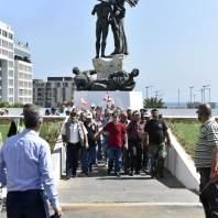 اعتصام لحراك العسكريين المتقاعدين في ساحة الشهداء- محمد سلمان