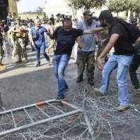 تحرك العسكريين المتقاعدين في ساحة الشهداء - محمد سلمان
