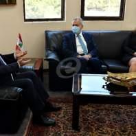 لقاء بين وزيرالخارجية والسفير السوري-محمد سلمان