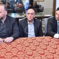 مؤتمر صحافي للنائب طلال ارسلان-فضل عيتاني