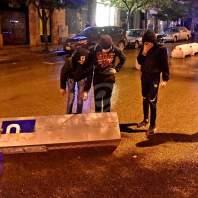 مواجهات بين المتظاهرين والقوى الأمنية في وسط بيروت - محمد سلمان
