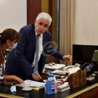 استقالة ناصيف حتّي - محمد سلمان