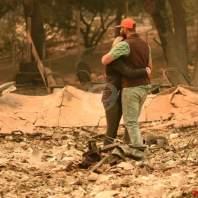 الأضرار الناجمة عن حرائق كاليفورنيا