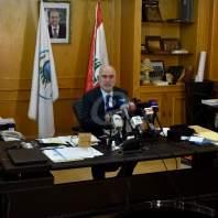 مؤتمر صحافي لوزير الأشغال يوسف فنيانوس- محمد سلمان