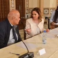 اختتام الجلسات التشاورية عن حاضر الإعلام ومستقبله في السراي الحكومي - محمد سلمان
