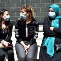 اعتصام للعاملين في برنامج الاكثر فقرا في وزارة الشؤون الاجتماعية-محمد سلمان