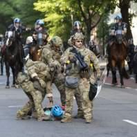 تظاهرات ضد العنصرية في الولايات المتحدة