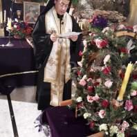 إحياء الجمعة العظيمة في كنيسة سيدة الإنتقال في النبطية
