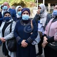 تجمع لجمعية اهالي الطلاب اللبنانيين في الخارج امام قصر العدل في بدارو – محمد سلمان