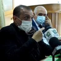 مؤتمر صحافي للجنة أهالي ضحايا انفجار مرفأ بيروت - محمد سلمان