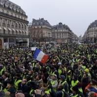 """السبت الخامس لتظاهرات """"السترات الصفر"""" في فرنسا"""