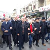 تظاهرات مطلبية احتجاجا على الاوضاع المعيشية