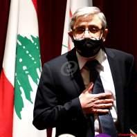 مؤتمر صحافي لوزير التربية طارق المجذوب-محمد سلمان