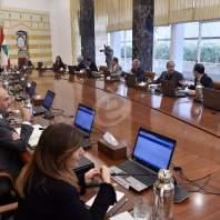 جلسة الحكومة المخصصة لبحث التدابير الوقائية لفيروس كورونا-محمد سلمان