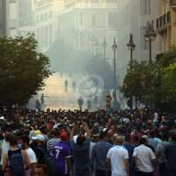 مظاهرات في وسط بيروت - محمد سلمان