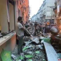 انفجار في مخبز وسط باريس