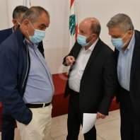 مؤتمر صحافي لرئيس الاتحاد العمالي العام بشارة الأسمر-محمد سلمان