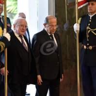 الرئيس عون استقبل نظيره الايرلندي-محمد سلمان