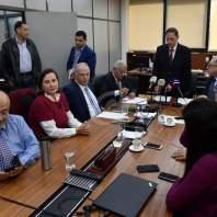 مؤتمر صحفي لرئيس هيئة الاشراف على الانتخابات القاضي نديم عبد الملك-محمد سلمان