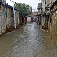 السيول في الاوزاعي-محمد سلمان