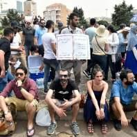 اعتصام لطلاب وأساتذة الجامعة اللبنانيةفي رياض الصلح - محمد سلمان