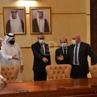 تسلم وتسليم لهبة مقدمة من الجمارك القطرية لصالح الجمارك اللبنانية-محمد سلمان