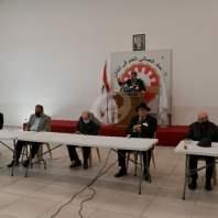 اجتماع في الاتحاد العمالي العام