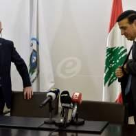تسليم وتسلم في وزارة الأشغال بين يوسف فنيانوس وميشال نجار- محمد سلمان