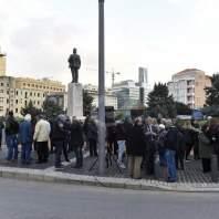 اعتصام المالكين القدامى في رياض الصلح-محمد سلمان