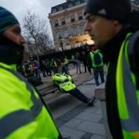 تظاهرة السترات الصفراء في فرنسا
