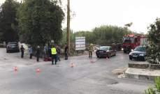 جريح نتيجة جراء حادث سير في الكسليك