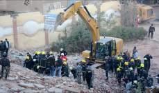 ارتفاع حصيلة قتلى انهيار مبنى شرق القاهرة أمس إلى 25 شخصا
