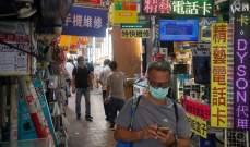 تسجيل 118 إصابة جديدة بكورونا في هونغ كونغ