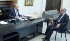وزير الدفاع من بعبدا: المؤسسة العسكرية لن تسمح بأي تجاوزات من شأنها تهديد السلامة العامة