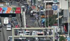جريحان نتيجة انقلاب بيك اب بمحاذاة نفق سليم سلام باتجاه وسط بيروت