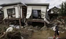 ارتفاع حصيلة ضحايا إعصار اليابان إلى 74 قتيلا