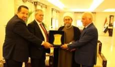 سفير سوريا استقبل وفدا من جمعية الوسط الإسلامي اللبناني