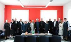 مركز التربية الدينية لرهبانية القلبين الأقدسين أقام اللقاء الإحتفالي للمنتدى الشبابي السابع