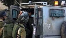 القوات الإسرائيلية اعتقلت 11 فلسطينيا في مدن عدة بالضفة الغربية