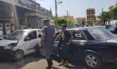 النشرة: تسرب مادة المازوت على طريق مرجعيون كفرتبنيت يتسبب بحادث سير